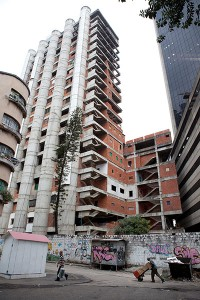 A self-organising community created in Torre David