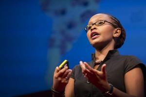 Juliana Rotich. Co-founder of Ushahidi